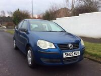 2005 Volkswagen Polo E55. MOT Dec-2018, Genuine low 61,000 miles with 11 stamp full service history