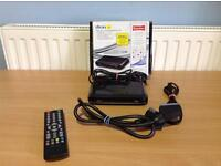 DION SINGLE SCART LOW ENERGY DIGITAL SET TOP BOX FREEVIEW
