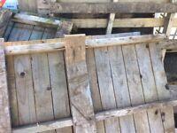 Broken pallets
