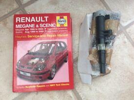 Renault Megane scenic Haynes book