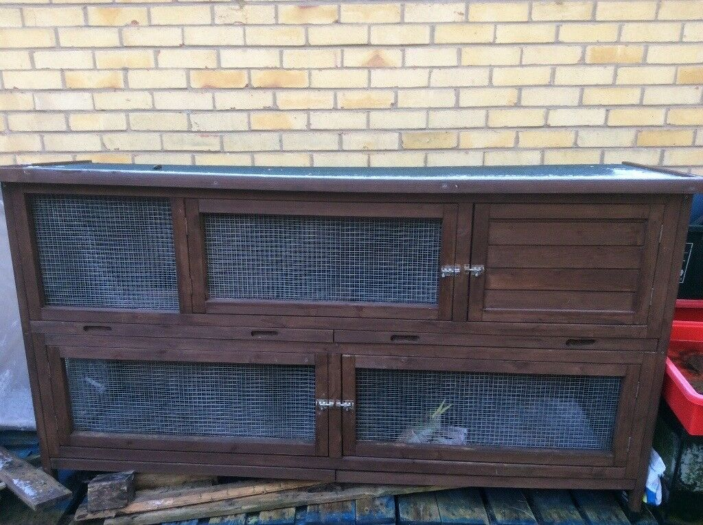 19a9636f2 The Coach House 6ft Large Rabbit Hutch. Northampton ...