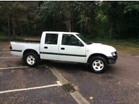 Isuzu 4x4 turbo diesel pick up with crew cab