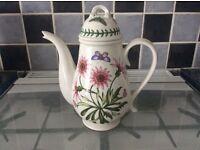 Portmeirion botanical garden treasure flower coffee pot