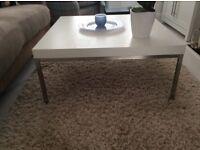 White square coffee table IKEA