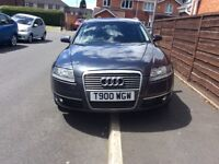 AUDI A6 2.0 TDI S LINE 5DR Estate AUTOMATIC 2008 Full hISTROY 8 Mouth mot miles 190000