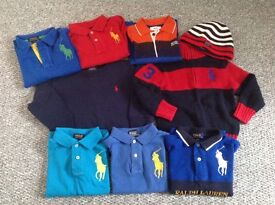 BOYS DESIGNER CLOTHES BUNDLE AGE 2 - RALPH LAUREN, HUGO BOSS, TIMERLAND