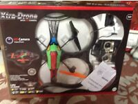 Quad drone with camera