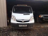 2010 Vauxhall vivaro fridge van 2.0cc diesel van not starting spares or repairs