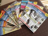 Who Do You Think You Are ? Magazine collection various editions from 2013