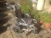 KARMA S Ergo 115 Wheelchair with TGA Powerpack
