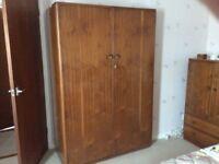 Austin Suite Wardrobe - Teak wood.