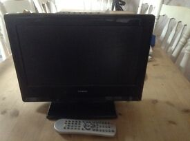 """Small TV 15"""" perfect working order, ideal for bedroom, Goodmans"""