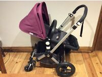 Bugaboo Cameleon Pram Limited Edition With Seat, Carry coat And Accessories
