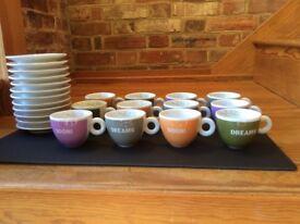 12 x illy Biennele de Venezia 5 floz coffee cups
