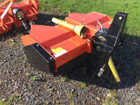 Suton road brush for compact tractor