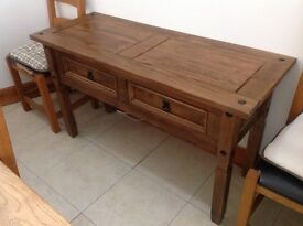 Console/ sideboard/ drawer Table