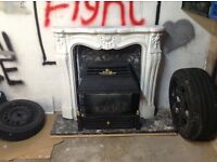 Stylish Marble Fire place (Second Hand)