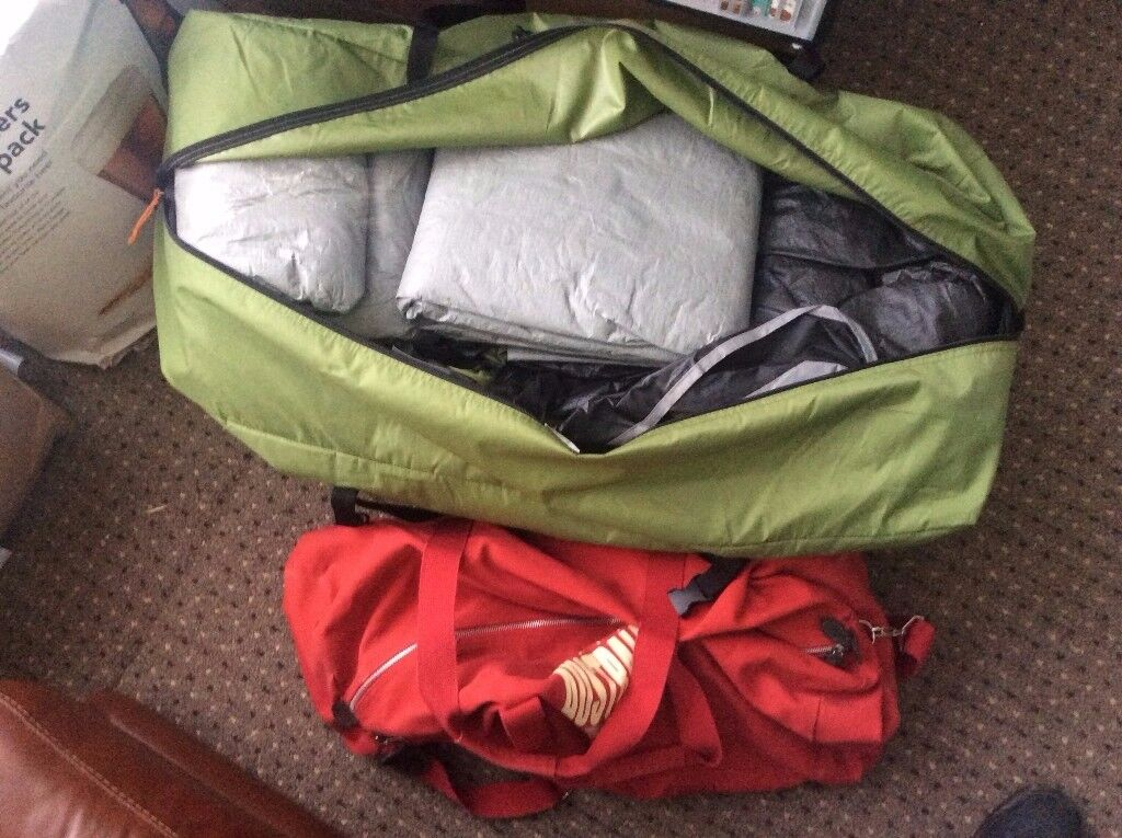 Vango Diablo 6 Man Tent + camp kit for sale