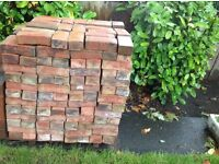 Rustic hand made bricks