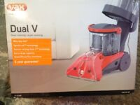 VAX DUAL V124 A Carpet and Upholstery cleaning Machine.
