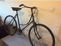 BSA VINTAGE BICYCLE -FAMILY AIRLOOM DUST INCLUDED