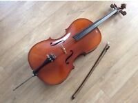 1/2 size Michael Poller cello