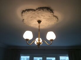 Ceiling light with four matching wall lights