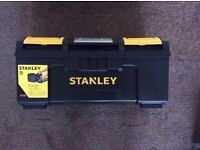 """STANLEY BRAND NEW 19"""" ONE TOUCH TOOL BOX DIY CONSTRUCTION Collection COLLIER ROW ROMFORD RM5 DIY"""
