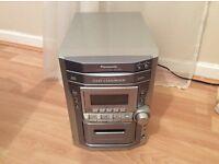 Panasonic CD Stereo System SA-PM11 Silver
