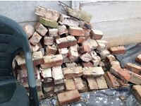 House bricks from a terraced house