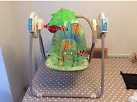 Baby Swing. Fisher Price baby swing seat