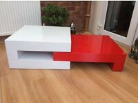 High Gloss Coffee Table, New & Boxed
