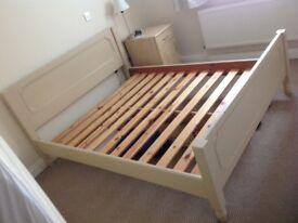 KINGSIZE WOODEN BED (hand made for me a few years ago)