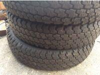 Part worn tyres, job lot, 500+ tyres closing down stock.