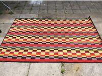 Multi-coloured IKEA area rug - good condition