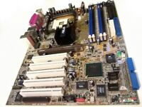 Asus P4C800-E Deluxe ATX motherboard (Intel Socket 478, DDR, AGP 8×)