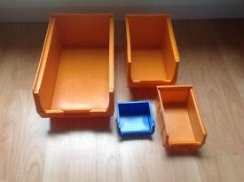 156 Stacking Storage Boxes