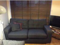 Lovely dark grey sofa **FREE**