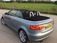 Audi A3 convertible, with all the trimmings!