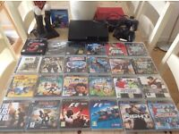 Sony PlayStation 3 PS3 Bundle including 24 Games & PlayStation Move Controllers & Charging stands