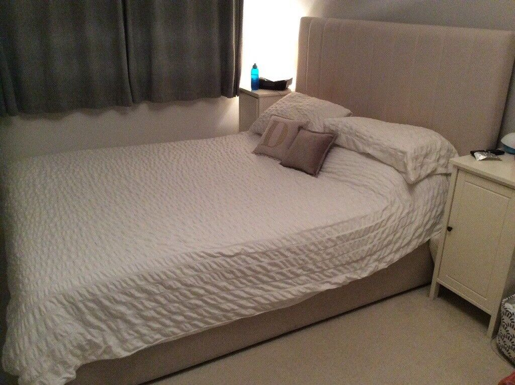 Marks And Spencer King Size Storage Bed And Memory Foam