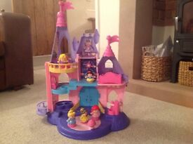 Fisher price little people Disney Palace vgc