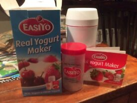Yogurt Maker by Easiyo. Made perfectly in 8 to 12 hours!