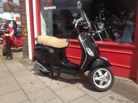 Piaggio Vespa LX125i 3v nice little scooter just fully serviced full 12 months Mot delivery arranged