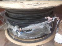 4mm core armored cable black