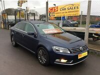 Volkswagen Passat sport DSG 2.0 tdi diesel 2011 one owner 90000 fsh full mot mint car may px