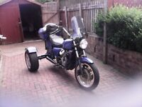 Honda cx500 trike 11 months mot very good runner