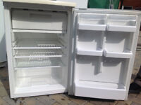 BEKO RB711W Undercounter FRIDGE containing small Freezer compartment at the top.