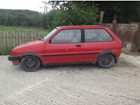Austin Mini Metro 1000 cc ideal project. Lack of time and space forces sale. Some new parts.