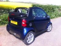 SMART PULSE CABRIOLET SOFT TOP VERY LOW MILEAGE CITY CAR CONVERTABLE